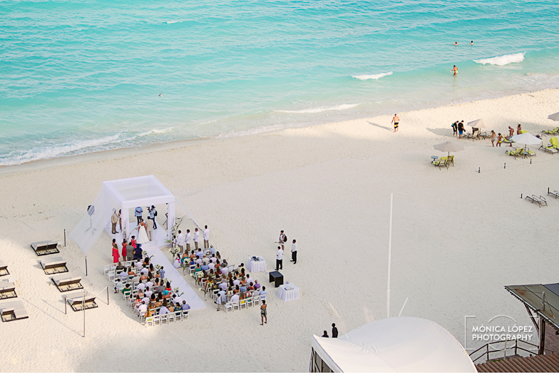 Wedding Coordination Core Events Ceremony Reception Venue Beach Palace Cancun
