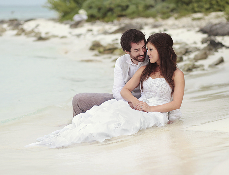 Dreams Cancun Wedding Romantic Photos by Monica Lopez Photography