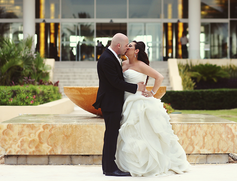 Riviera Maya Wedding at Now Jade Cancun by Monica Lopez Photography
