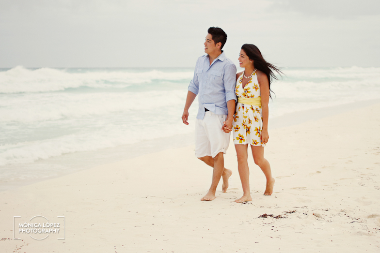 Michelle + Jason - Cancun Engagement Session at JW Marriott by Mónica López Photography (2)