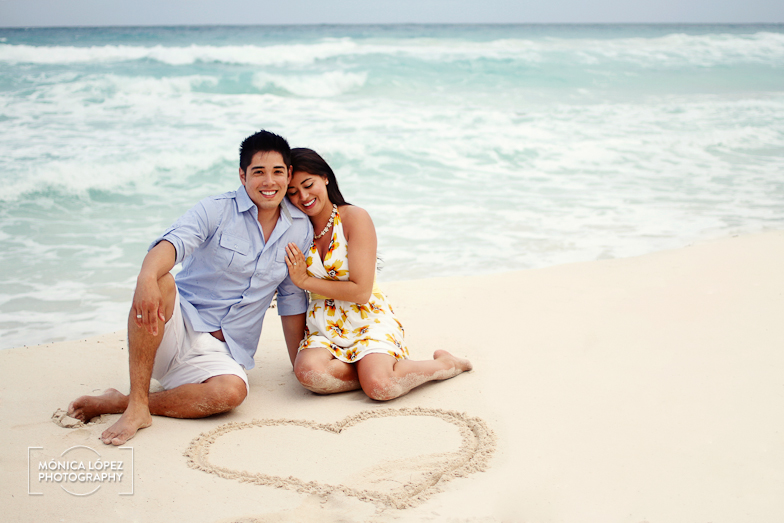 Michelle + Jason - Cancun Engagement Session at JW Marriott by Mónica López Photography (6)