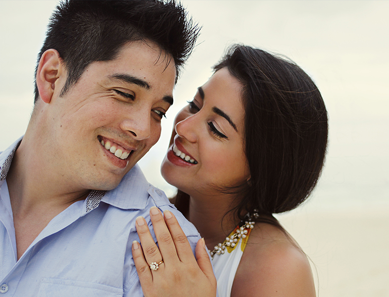 Cancun Engagement Session at JW Marriott by Mónica López Photography