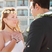 Cancun Destination Wedding by Monica Lopez Photography