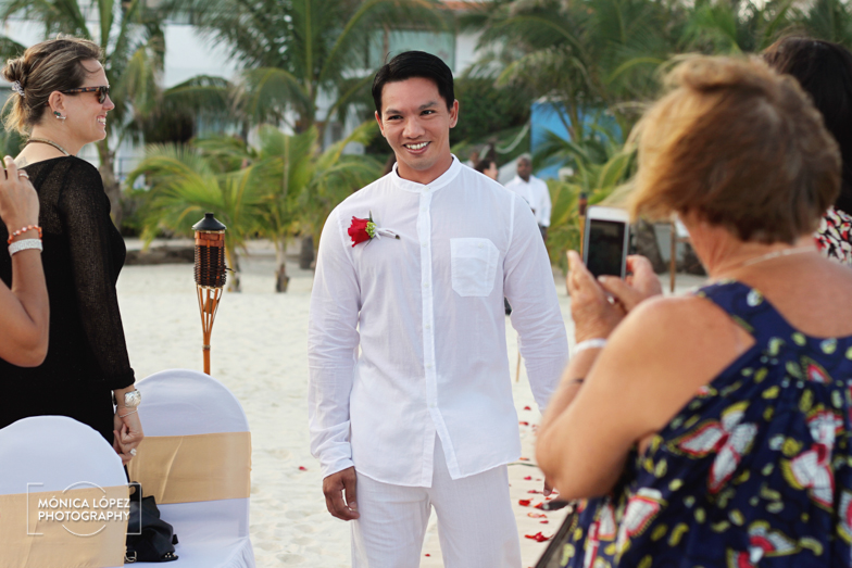 Tatiana and Adrián, Wedding at Hotel Flamingo, Cancún, México (12)