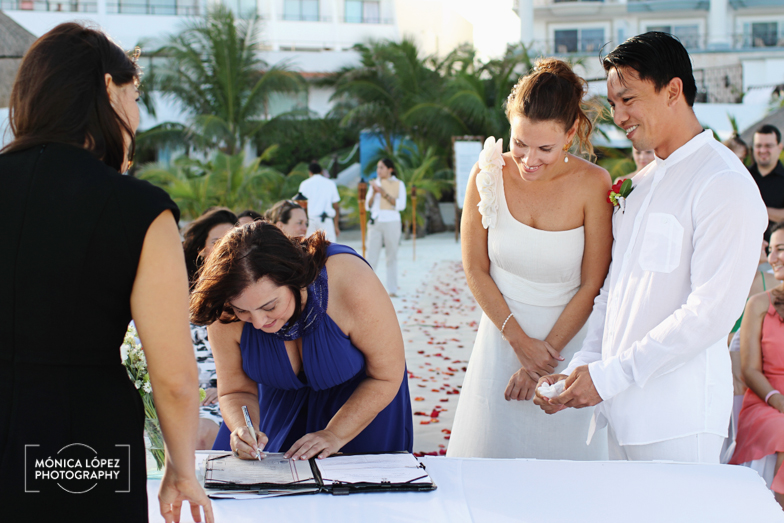 Tatiana and Adrián, Wedding at Hotel Flamingo, Cancún, México (18)
