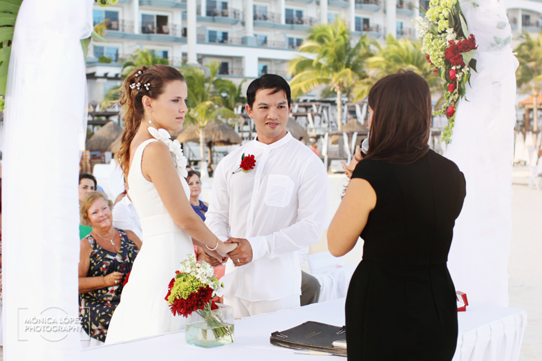 Tatiana and Adrián, Wedding at Hotel Flamingo, Cancún, México (22)