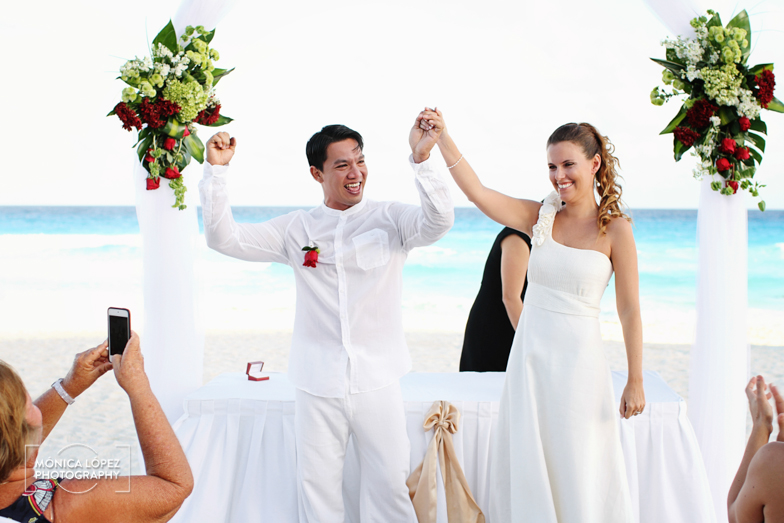Tatiana and Adrián, Wedding at Hotel Flamingo, Cancún, México (23)