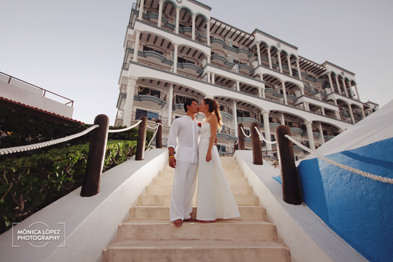 Tatiana and Adrián, Wedding at Hotel Flamingo, Cancún, México (38)
