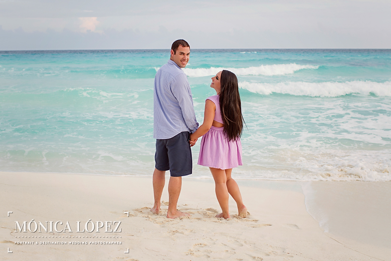 Beach Engagement Session at ME by Melia Cancun (17)