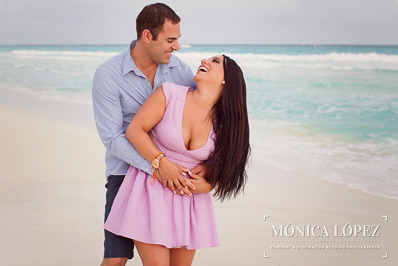 Beach Engagement Session at ME by Melia Cancun (14)