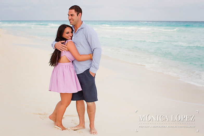 Beach Engagement Session at ME by Melia Cancun (10)