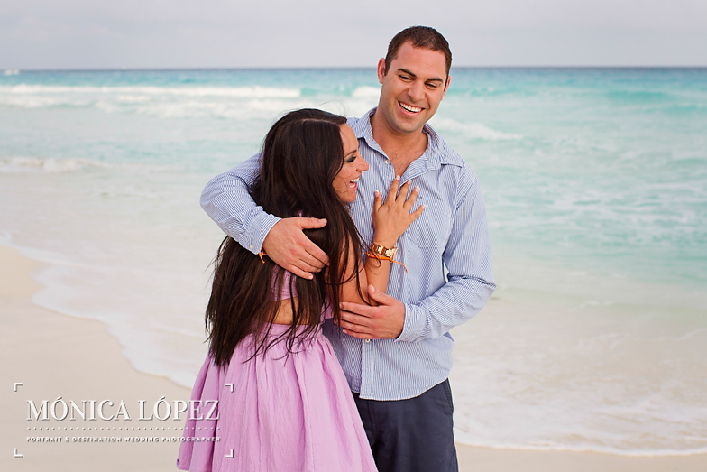 Beach Engagement Session at ME by Melia Cancun (9)