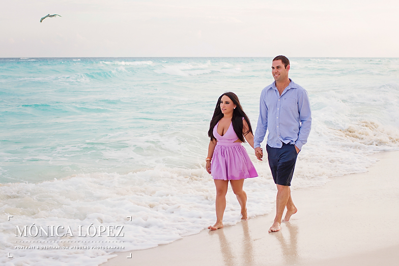 Beach Engagement Session at ME by Melia Cancun (6)