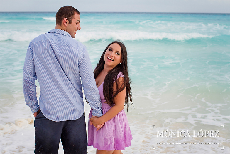 Beach Engagement Session at ME by Melia Cancun (5)