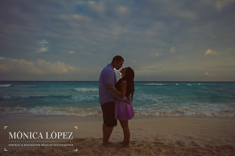 Beach Engagement Session at ME by Melia Cancun (25)