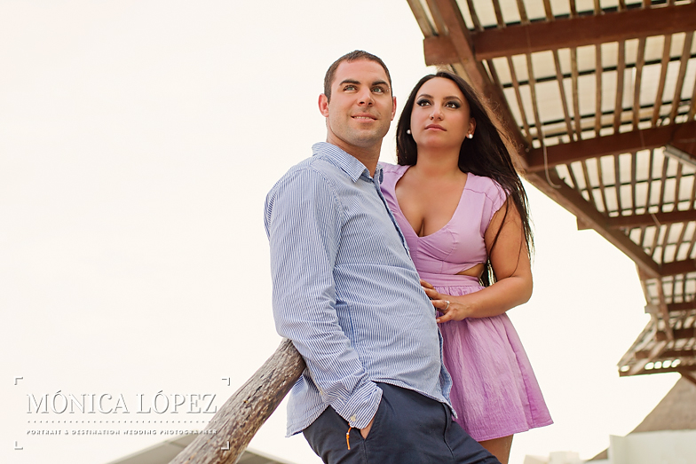 Beach Engagement Session at ME by Melia Cancun (24)