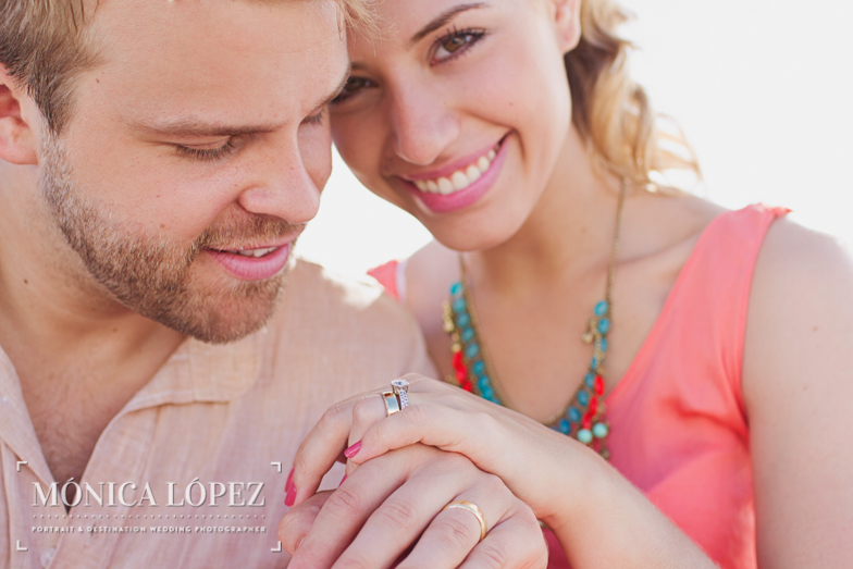 Cancun Honeymoon Portraits by Monica Lopez Photography