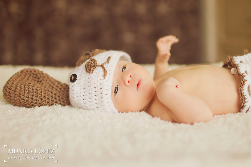 Cancun Newborn Life Style Session by Monica Lopez Photography