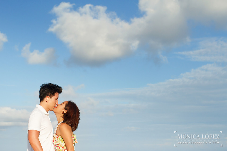 Cancun Anniversary Portraits at Ritz Carlton, Cancun, Mexico - Michelle + Eun