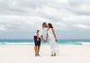 Cancun Maternity Portraits in Playa Delfines - Carine + Gnamanzie