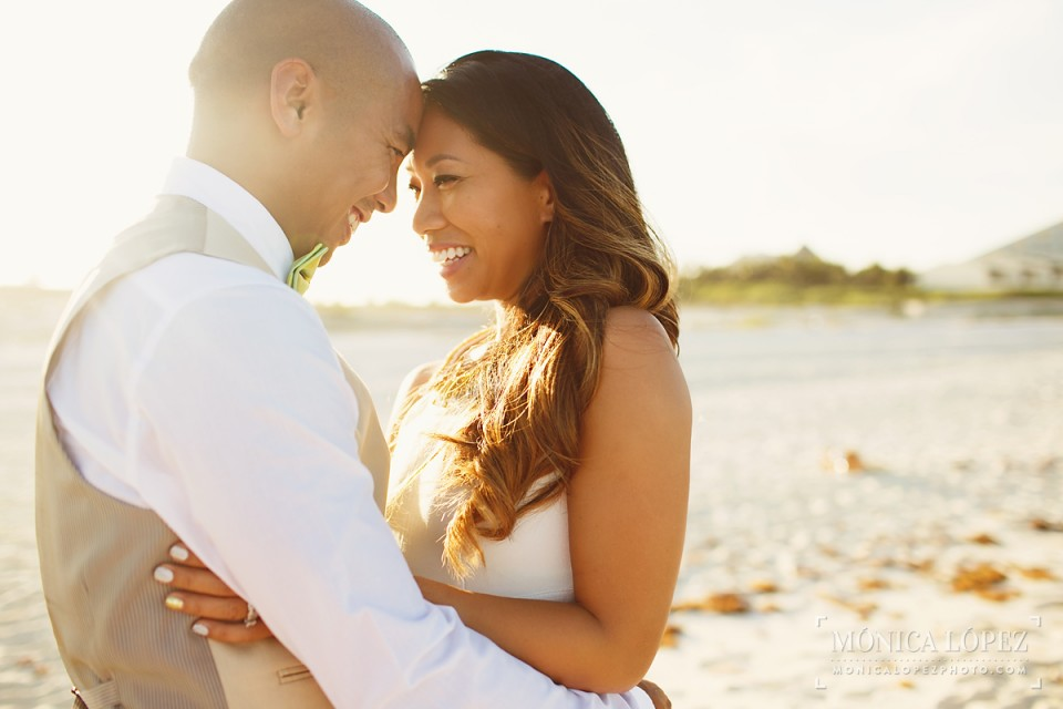 Cancun Vow Renewal Portraits at Playa Delfines, Mexico - Christina + Cyrus