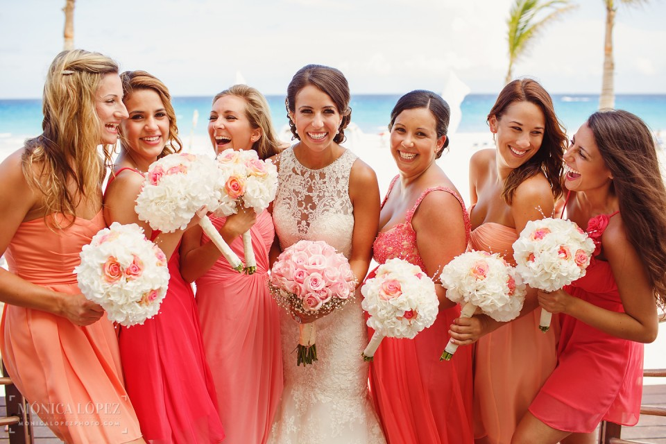 Destination Wedding at Gran Caribe Real by Monica Lopez Photography