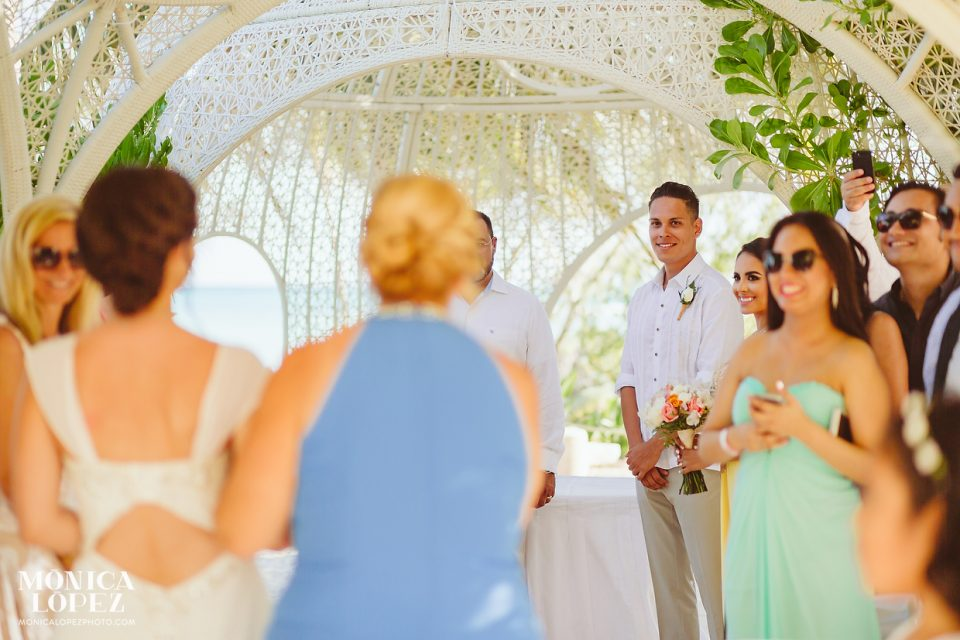 Sandos Caracol Destination Wedding by Monica Lopez Photography