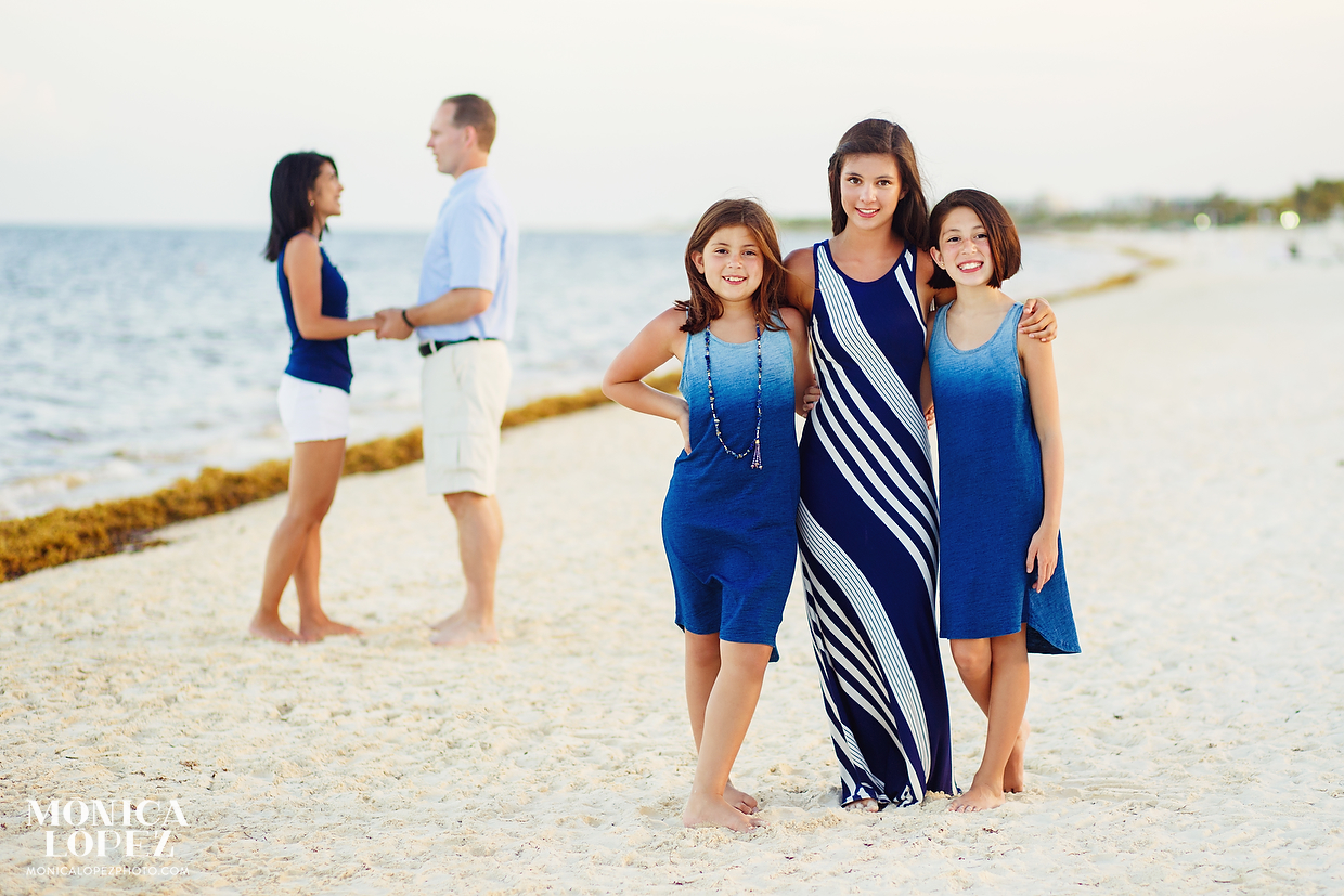 Moon Palace Family Beach Portraits - The Holders