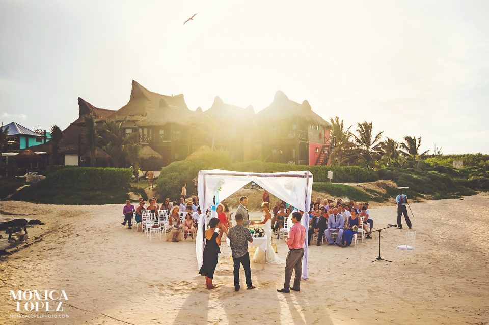 Destination Wedding in Tulum by Monica Lopez Photography