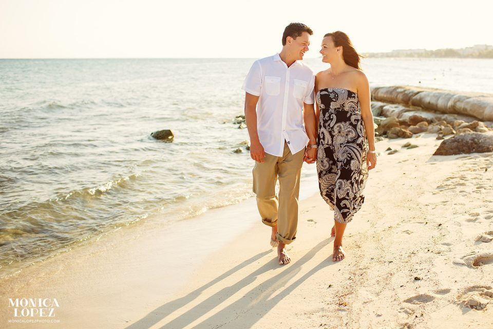 Playa Del Carmen Anniversary Portraits by Monica Lopez Photography