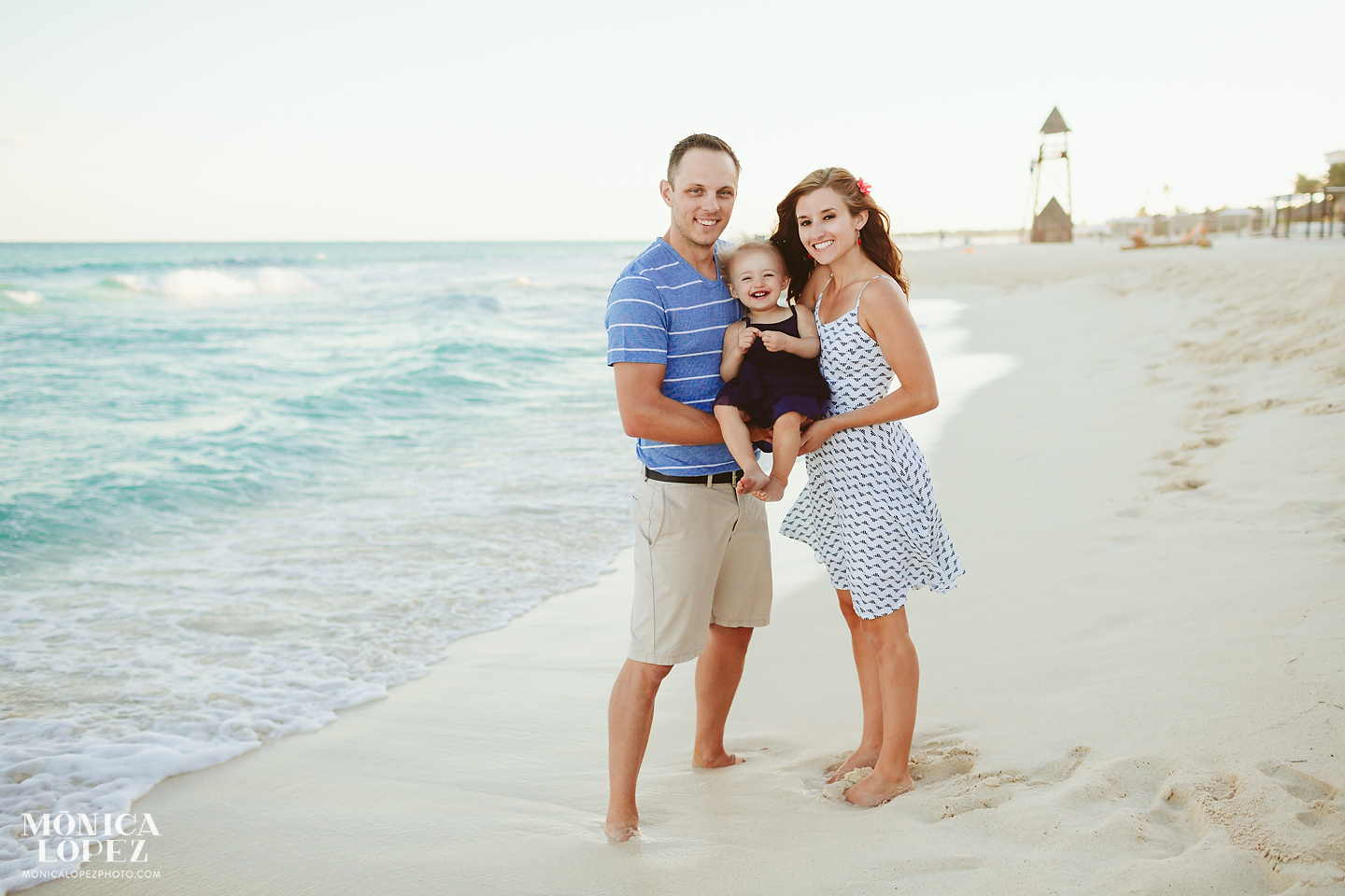 Playa del Carmen Family Portraits Monica Lopez Photography