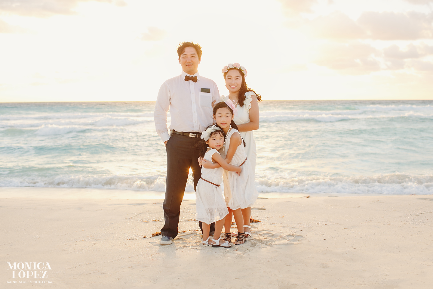 Cancun Family Portraits Monica Lopez Photography