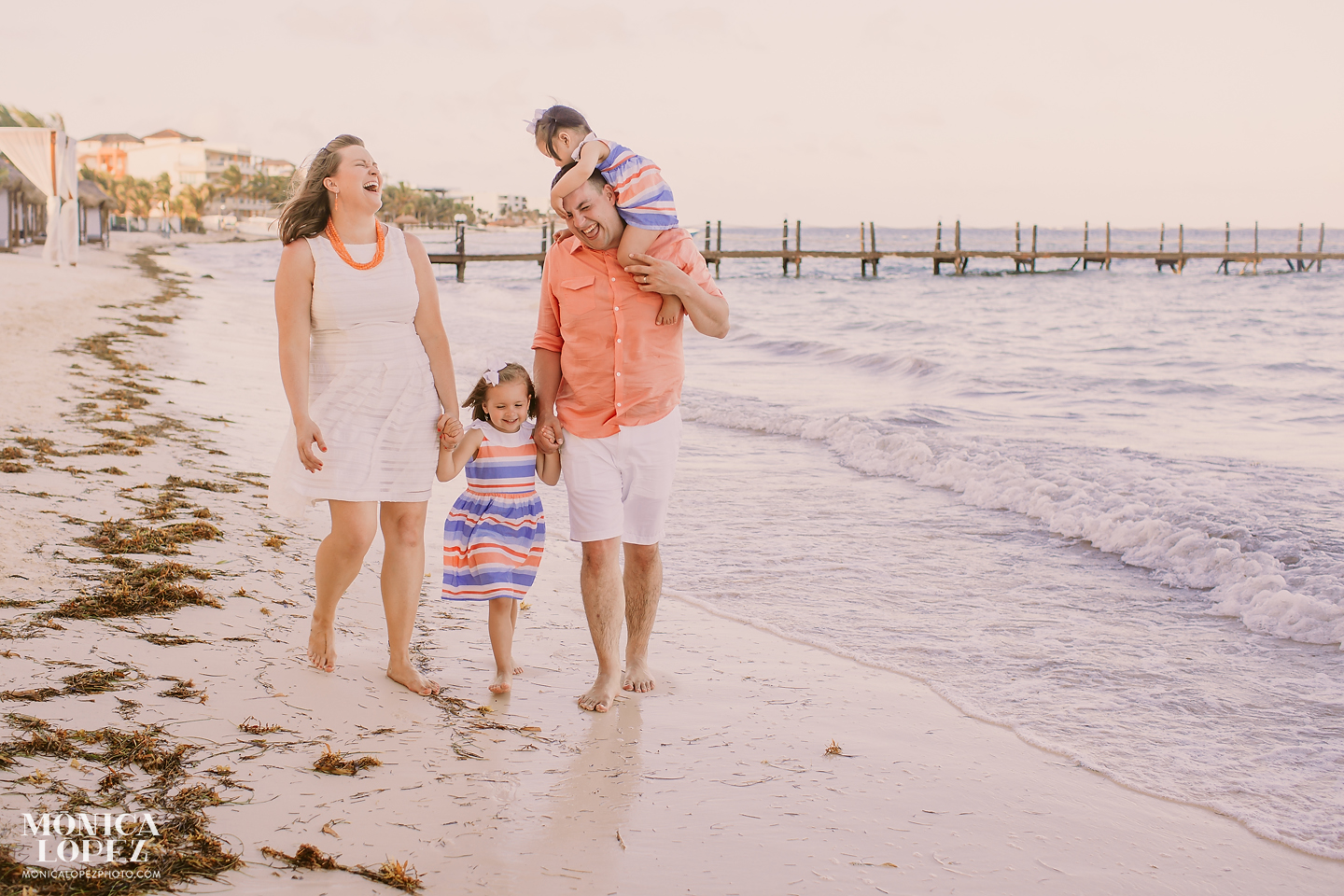 Riviera Maya Family Portraits Monica Lopez Photography