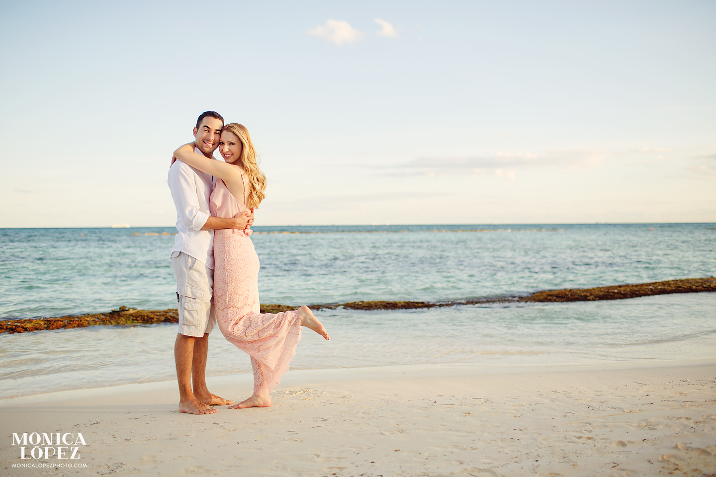 Grand Velas Riviera Maya Honeymoon Portraits by Monica Lopez Photography