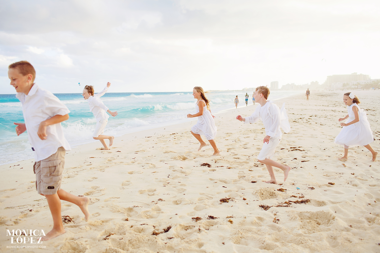 Iberostar Cancun Family Portraits by Monica Lopez Photography
