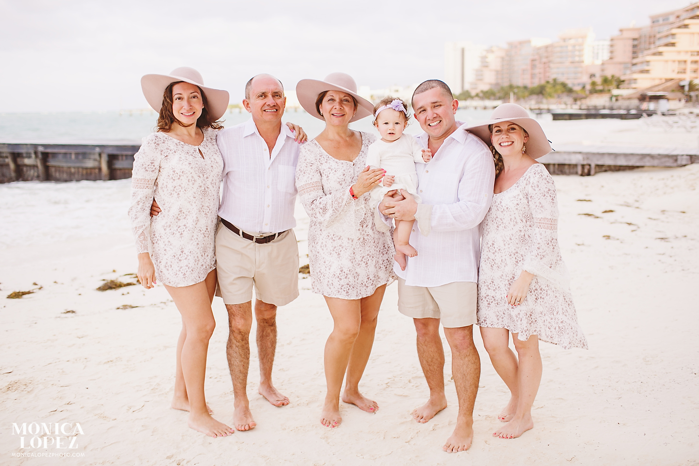 Riu Palace Peninsula Family Portraits - Surprise Baby Annoucement