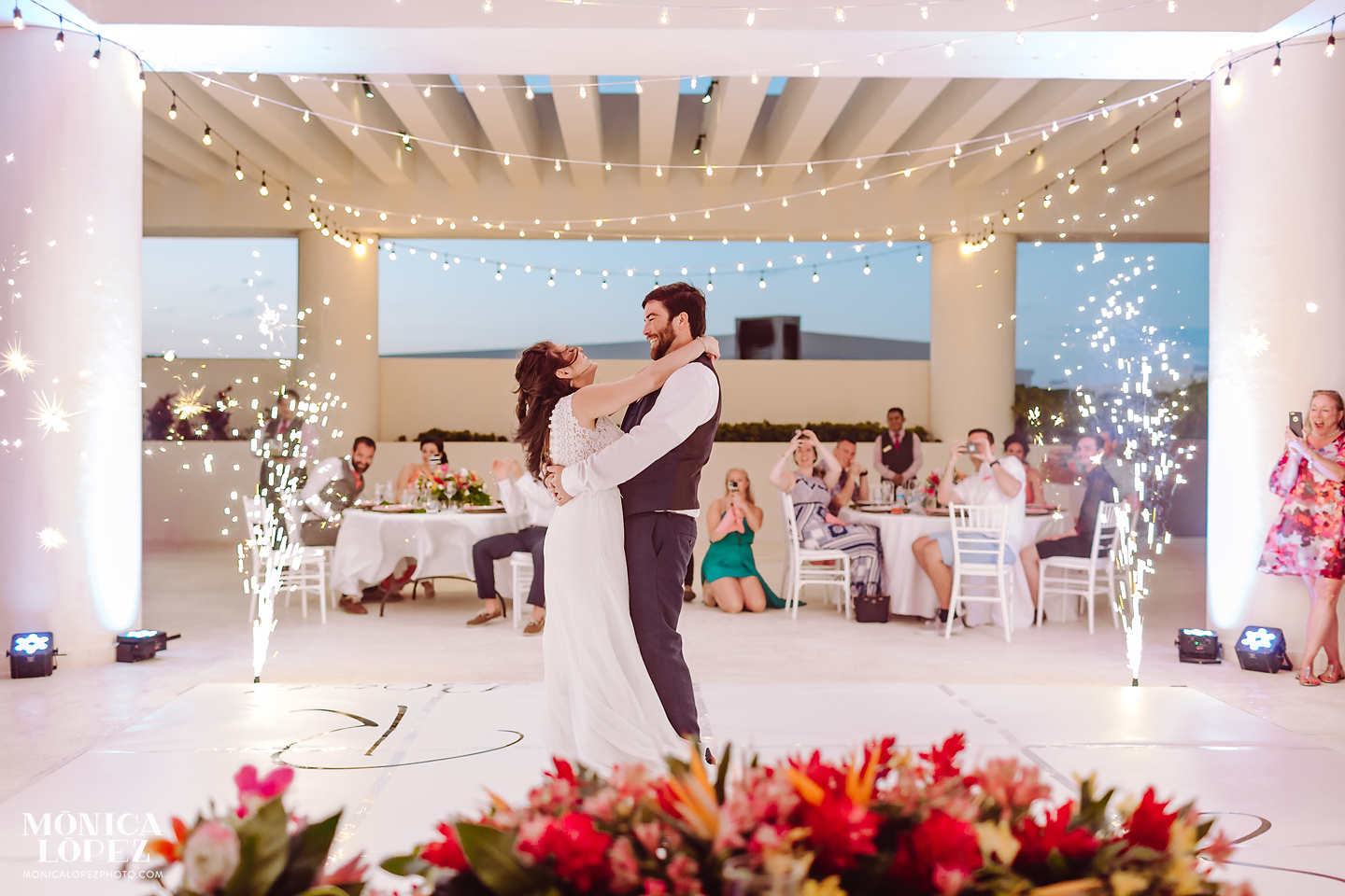 Hyatt Ziva Wedding by Monica Lopez Photography