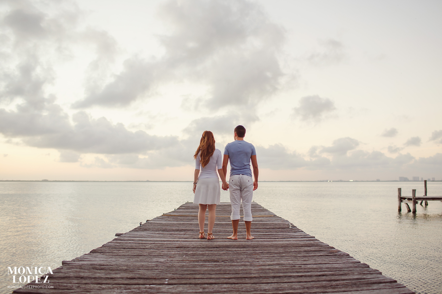 Cancun Anniversary Portraits by Monica Lopez Photography