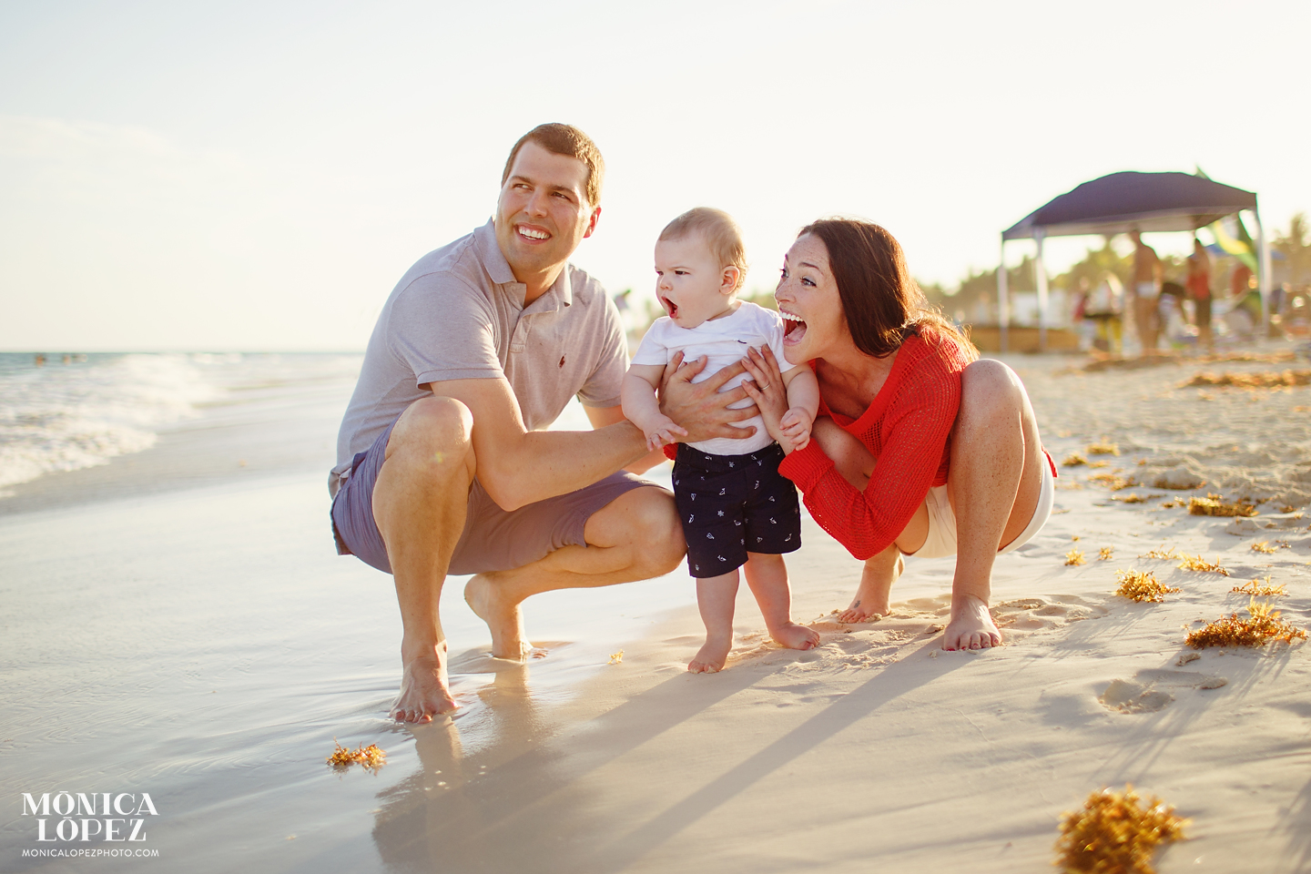 Playa del Carmen Family Portraits by Monica Lopez Photography