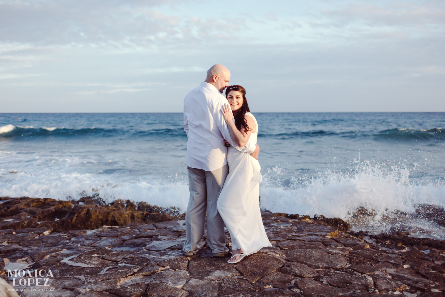 Dreams Puerto Aventuras Elopement by Monica Lopez Photography