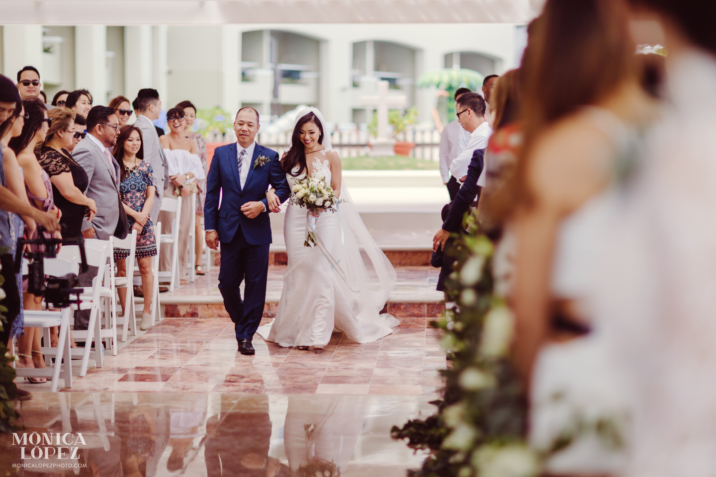 Hyatt Ziva Cancun Wedding by Monica Lopez Photograpy