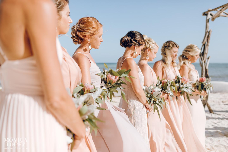 Secrets Silversands Riviera Cancun Wedding by Monica Lopez Photography