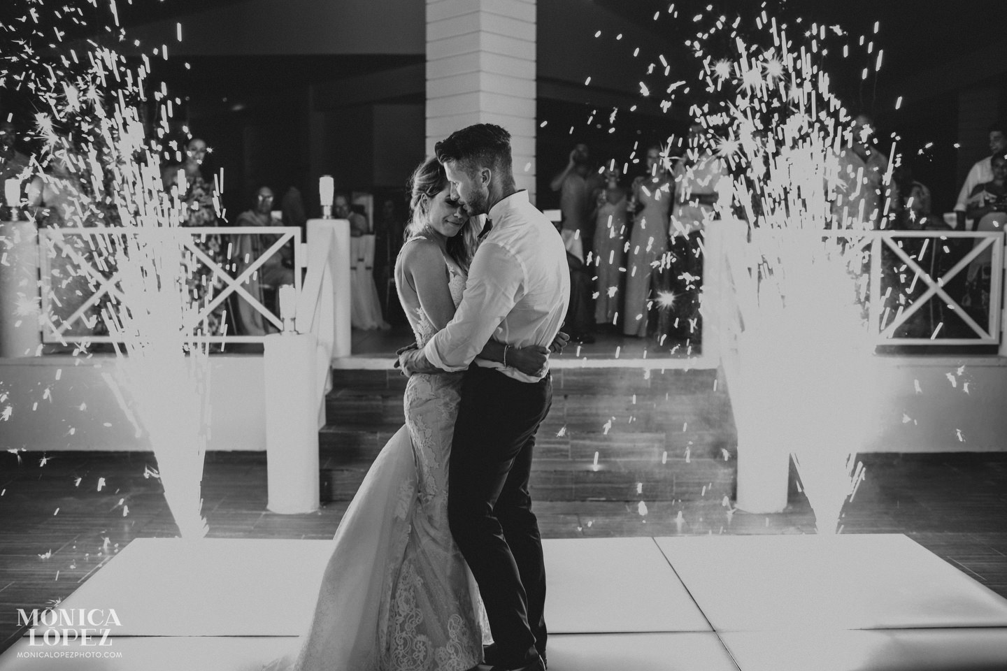 Secrets Silversands Riviera Cancun Wedding by Monica Lopez Photography