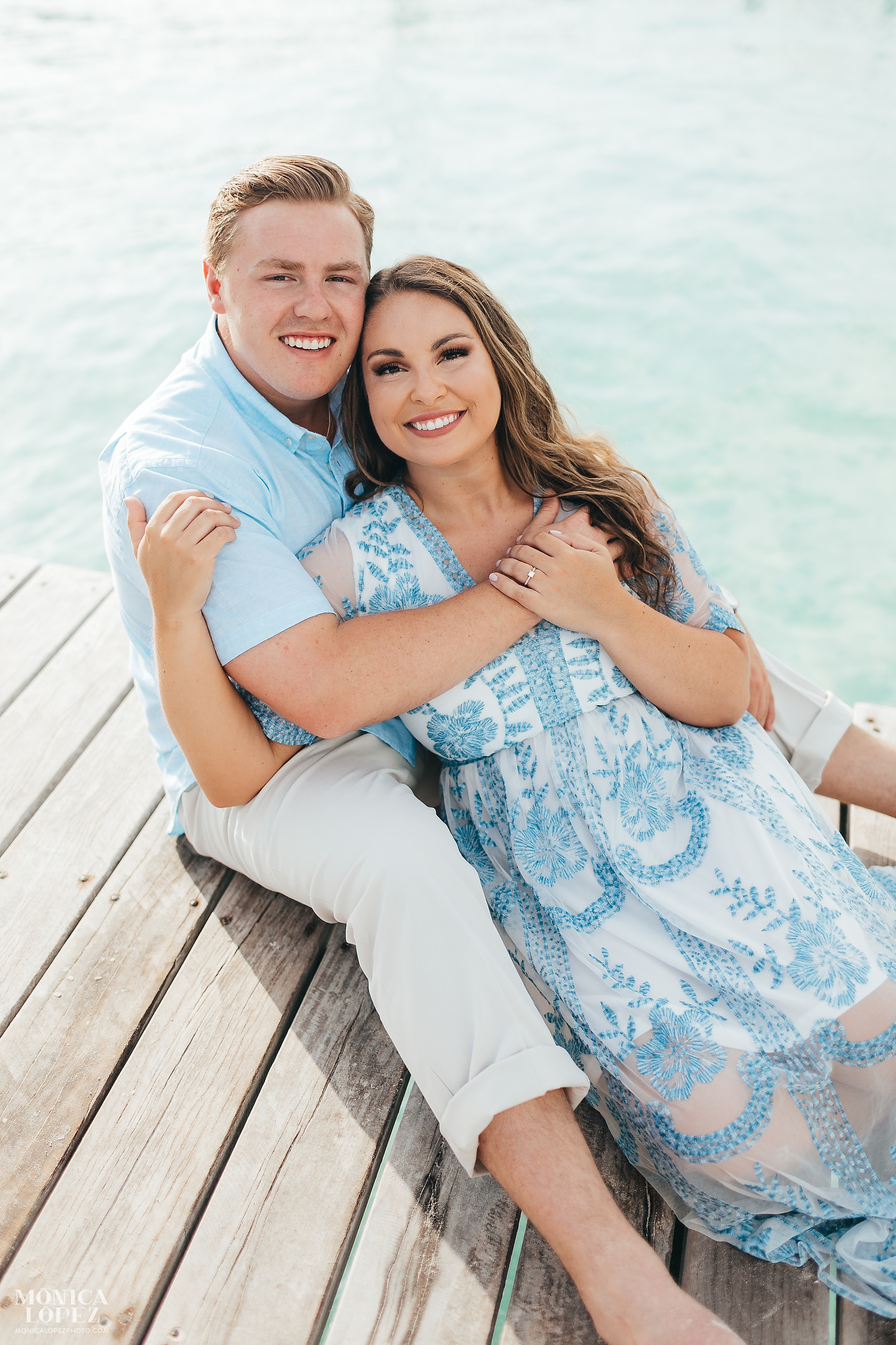 Isla Mujeres Engagement Portraits, Quintana Roo, Mexico by Monica Lopez Photography