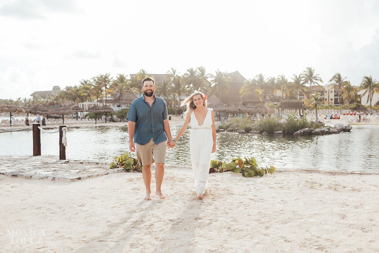Best Friends Getaway in Puerto Aventuras by Monica Lopez Photography