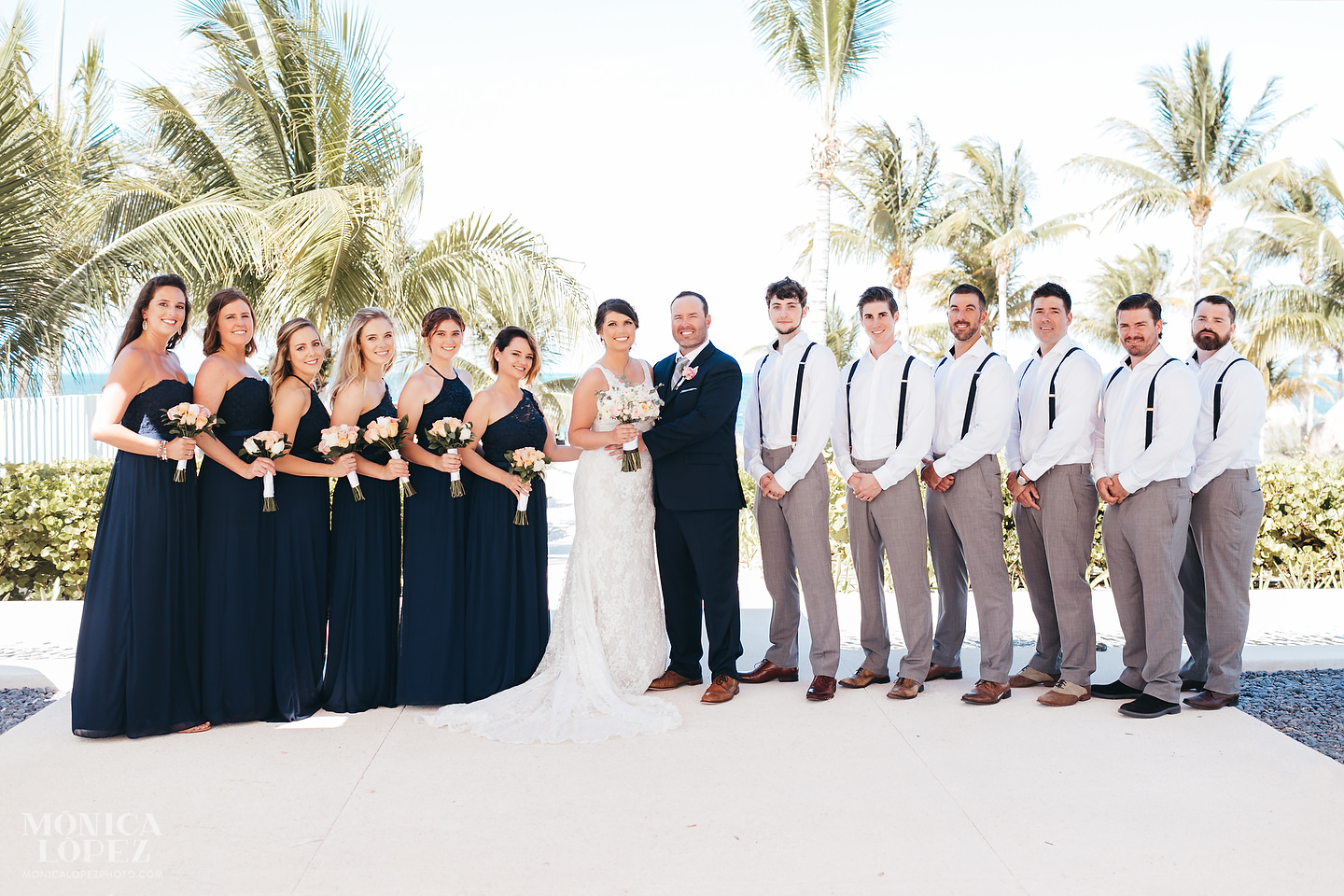 Finest Playa Mujeres Wedding by Monica Lopez Photography - Rachael + Adam
