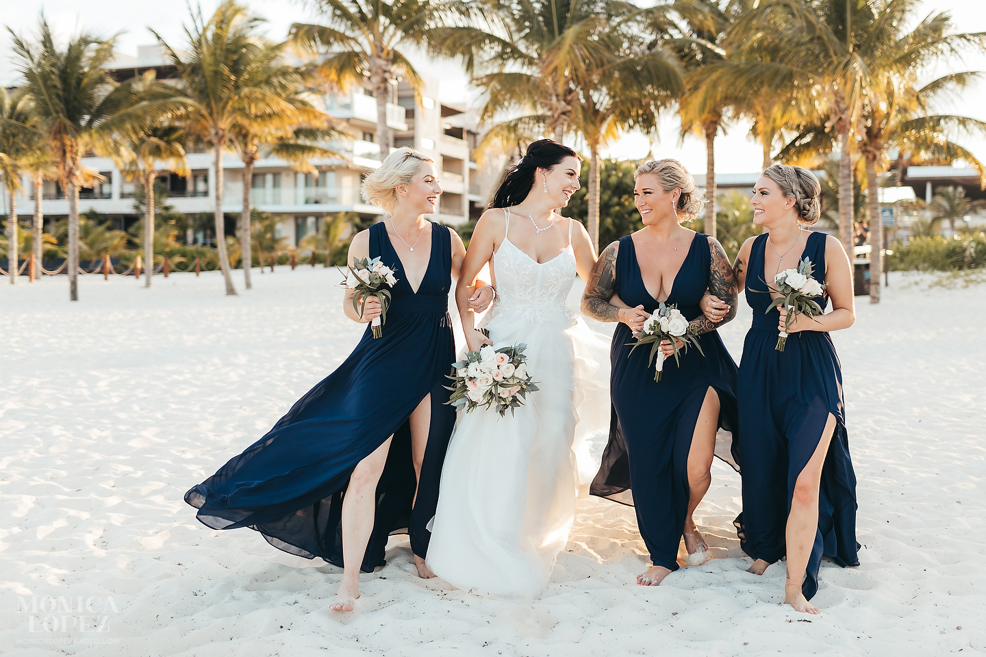 Royalton Riviera Cancun Wedding by Monica Lopez Photography