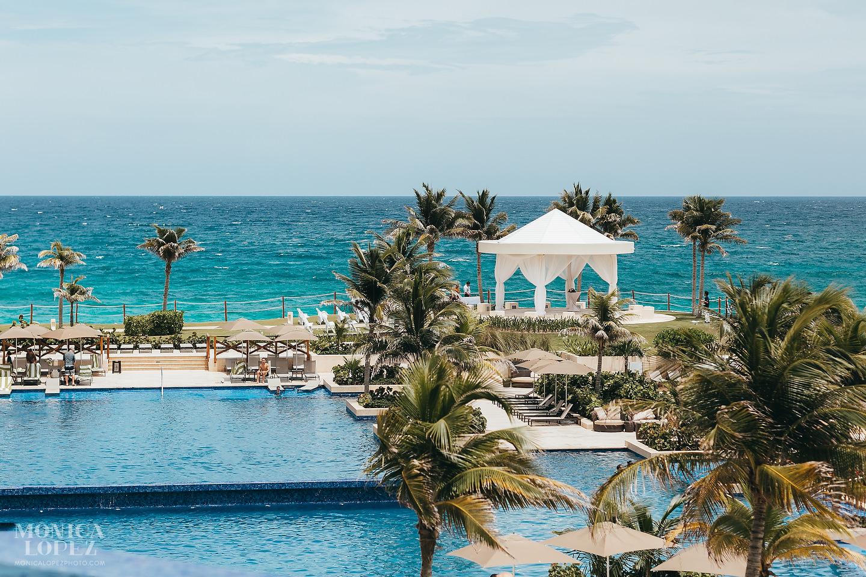 Hyatt Ziva Cancun Wedding by Monica Lopez Photography