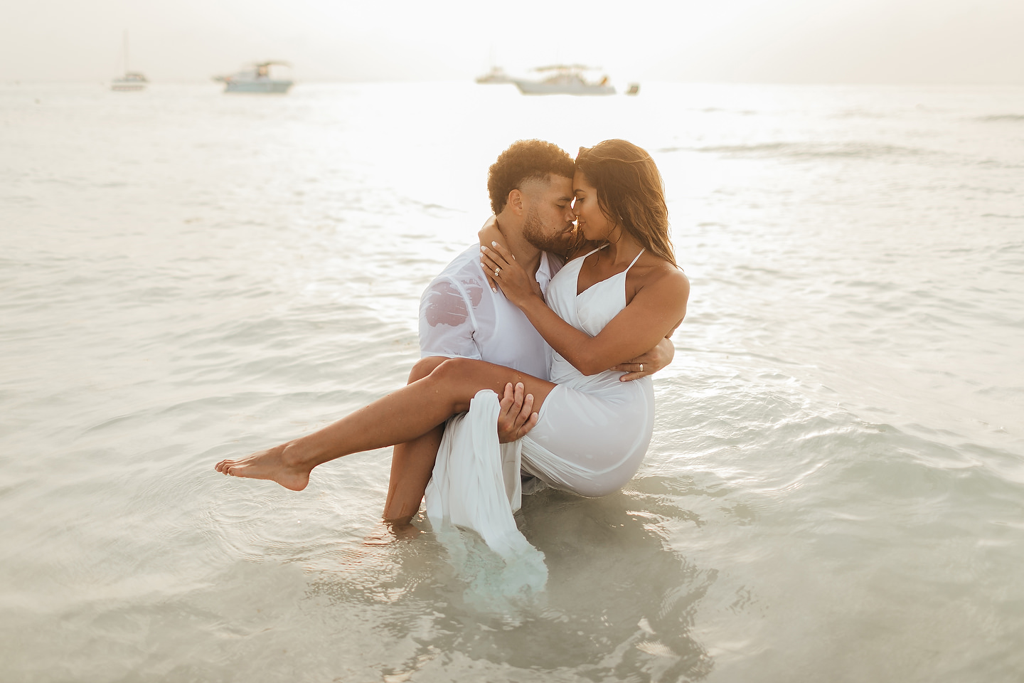 Isla Mujeres Trash The Dress by Monica Lopez Photography