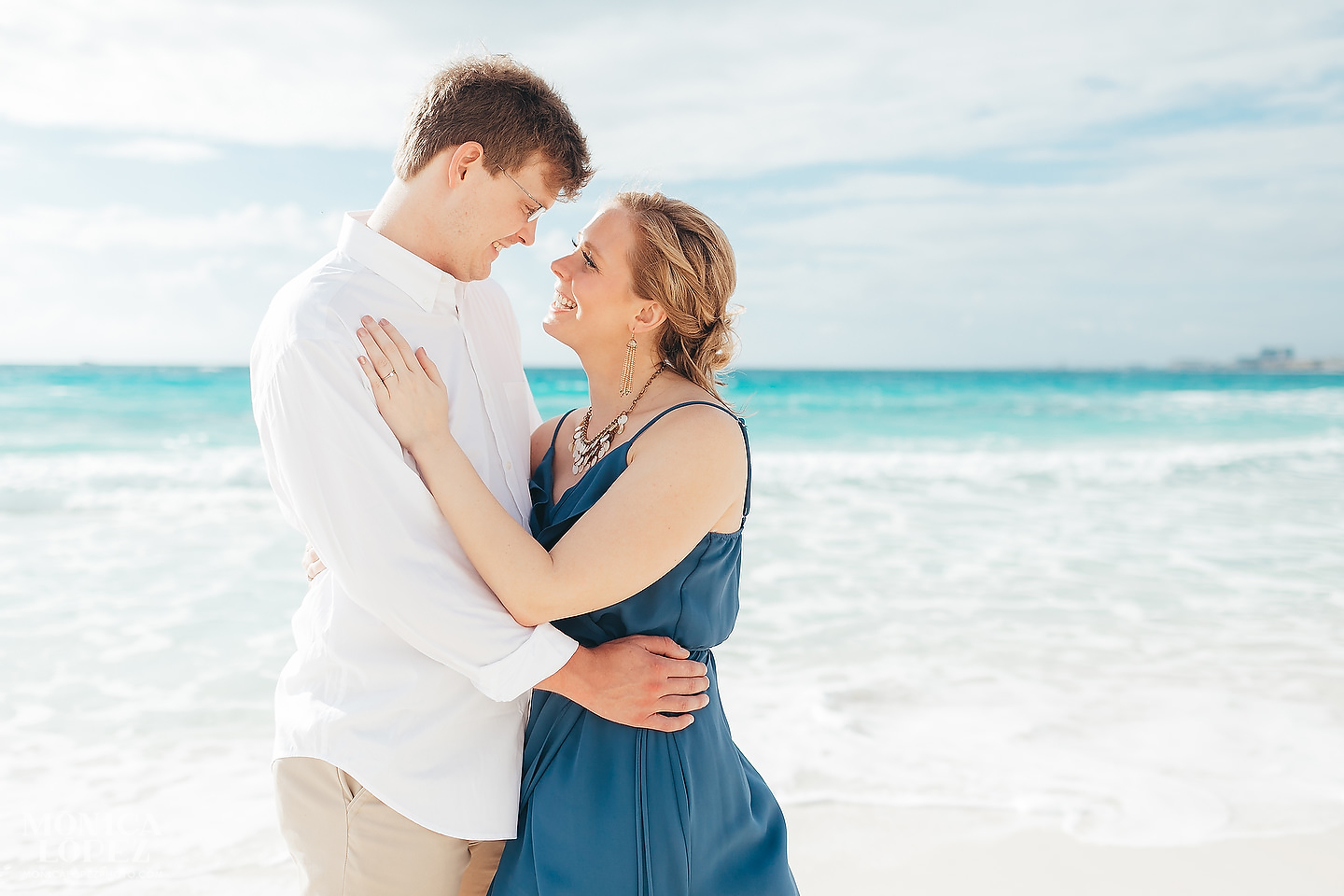 Cancun Engagement Portraits, Quintana Roo, Mexico by Monica Lopez Photography